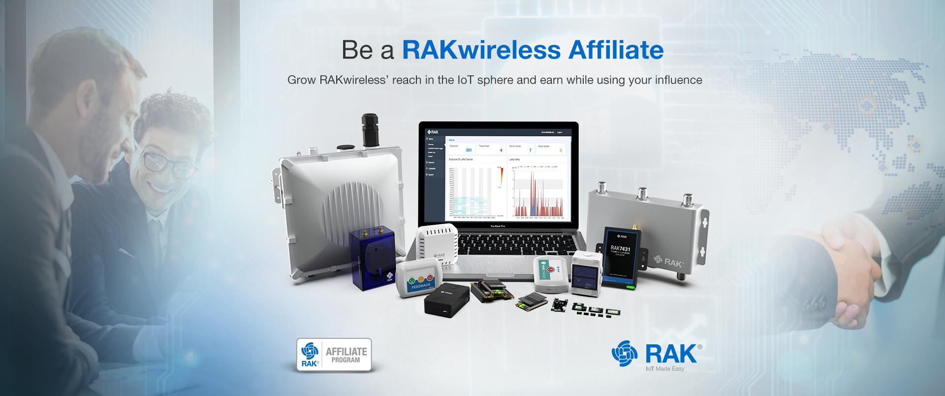 Become A RAKwireless Affiliate!