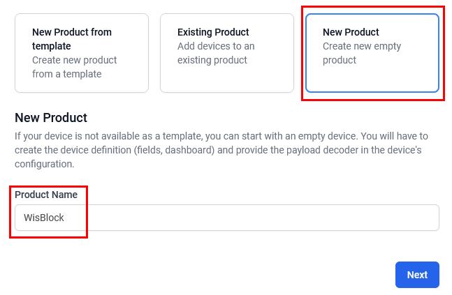 Datacake Add Device Step 3