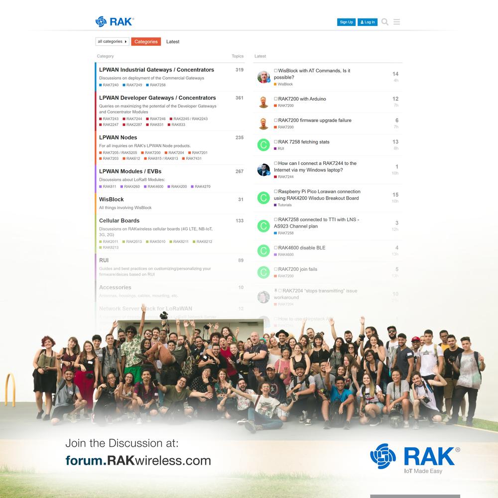 RAK community members